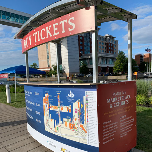 Tall Ships Ticket Booth