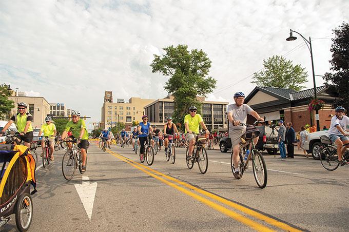 Cyclefest crowds