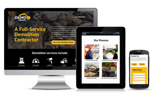 The Demo Team Website